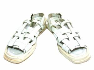 """DIRK BIKKEMBERGS イントレチャートレザーサンダル (intrecciato leather sandals) ダークビッケンバーグ シューズ ブーツ 050211"""