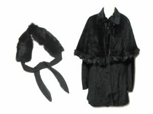 h.naoto Blood 悪魔的ケープマント コート (ヘッドドレス付き) (cape mantle coat) エイチナオト ブラッド ジャケット 057324