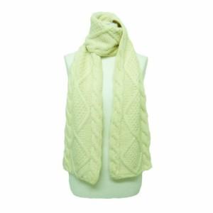 MUJI「無印良品」クラシックケーブル編みニットマフラー (Classic cable knitting knit muffler) ムジ 057465