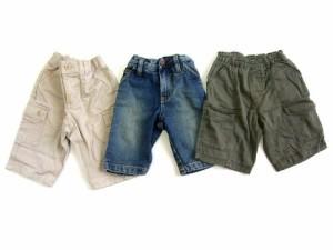 baby GAP + MUJI パンツ 3本セット (Pants Set of 3) ギャップ キッズ ベイビー ムジ 無印良品 060031【中古】