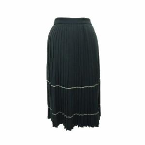 """barbara age クラシックプリーツニットスカート (Classic pleats knit skirt) バーバラ エイジ bui 061893【中古】"""