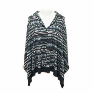 新品同様 MUJI 無印良品 Jacquard knit shawl、muffler (ムジ ジャガードニットショール、マフラー) 062363