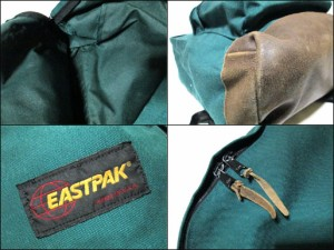 vintage EASTPAK Made in USA ヴィンテージ イーストパック アメリカ生産 ボトムレザー バックパック・リュックサック (鞄) 062726