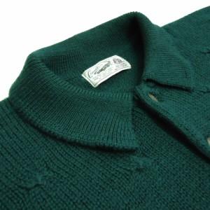 2994c86e4b08 CROCODILE「M」cable knit sweater クロコダイル 襟付きケーブルニットセーター (ポロシャツ) 063413【中古】