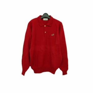 4aec671cb8d6 CROCODILE「M」knit sweater クロコダイル 襟付きニットセーター (ポロシャツ) 063416【