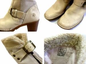 廃盤 Dr.Martens ドクターマーチン「UK4」ロカビリー レザー ブーツ (靴シューズ) 066649