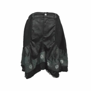 【新品】NAOTO SEVEN ナオトセブン 定価17640円 黒悪魔的 バルーン スカート (h.naoto エイチナオト) 066698