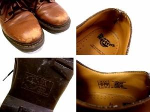 Dr.Martens ドクターマーチン Engiand「UK8」4ホール レザー ブーツ (靴シューズ) 067560