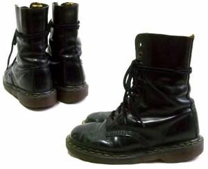 vintage Dr.Martens ヴィンテージ ドクターマーチン Engiand「UK5〜UK6」生産終了 英国製 10ホール レザー ブーツ (靴シューズ) 067562