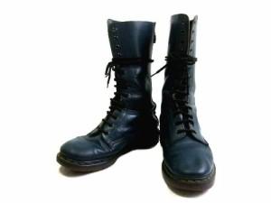 vintage Dr.Martens ヴィンテージ ドクターマーチン Engiand「UK7」生産終了 英国製 14ホール レザー ブーツ (靴シューズ) 067565