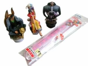 【新品】廃盤 ONEPIECE Doll×3・chopsticks set ワンピース フィギュア 3体セット・箸 セット (絶版 限定) 067603