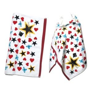 【新品】廃盤 Vivienne Westwood Star ORB Heart ヴィヴィアン ウエストウッド スター オーブ ハート 大判パイル 068014