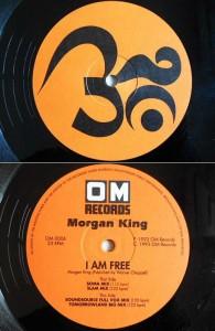 Morgan King I AM FREE (アナログ盤レコード SP LP)■