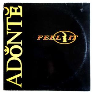 ADONTE FEEL IT (アナログ盤レコード SP LP)■