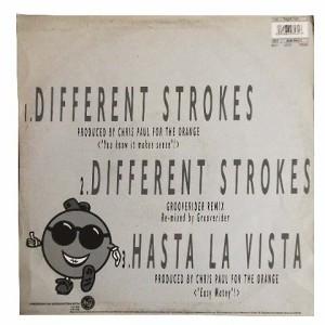 isotonik different strokes (アナログ盤レコード SP LP)■