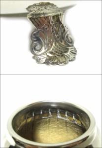 【新品】Mate Tea マテ茶 瓢箪×シルバー 容器 (茶器 洋銀 M-CA02 ベーリャ) 069038