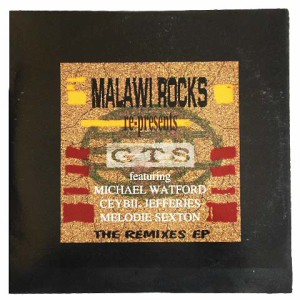 GTS MALAWI ROCKS re-presents GTS THE REMIXES E.P (アナログ盤レコード SP LP)■