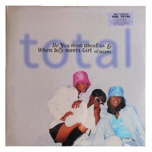 【新品】total Do You think about us When boy meets Girl remixes (アナログ盤レコード SP LP)■
