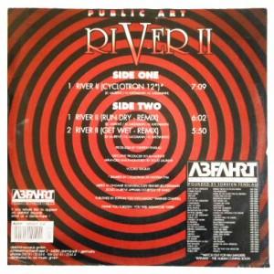 PUBLIC ART RIVER II (アナログ盤レコード SP LP)■
