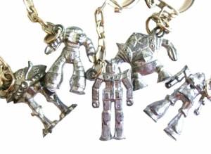 vintage GUNDAM ヴィンテージ 機動戦士ガンダム メタルキーリング (キーホルダー ズゴック ビグザム ドム ゾック) 071930