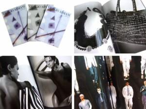 GIORGIO ARMANI S/S 2004 Collection of photographs catalogue ジョルジオ アルマーニ S/S 2004 写真集カタログ・本■