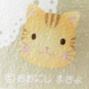 【新品】Masayo Onishi おおにし まさよ ねこブローチ 076373
