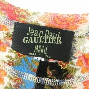 Jean Paul GAULTIER ジャンポールゴルチエ「M」ペイズリーシースルーカットソー (ゴルチェ) 080392