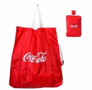 新品同様 廃盤 Coca cola コカコーラ オフィシャルトートバッグ 081212