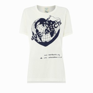 【新品】Vivienne Westwood worlds end ヴィヴィアンウエストウッド ワールズエンド 限定 SAVE the ARCTIC Tシャツ (MAN マン) 082675