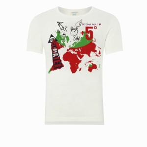 【新品】Vivienne Westwood worlds end ヴィヴィアンウエストウッド ワールズエンド 限定 反戦 Tシャツ (MAN マン) 082677