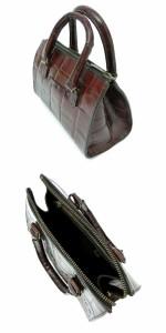 廃盤 Jean Paul GAULTIER ジャンポールゴルチエ クロコダイルレザー2wayボストンバッグ (ゴルチェ 鞄カバン) 084643