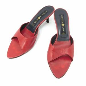 PATRICK COX パトリックコックス「37」レザーヒールミュール (靴シューズ サンダル) 084673
