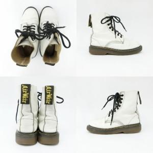 Dr.Martens ドクターマーチン 8ホール レザーブーツ (靴シューズ) 084684