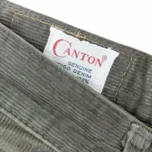 CANTON キャントン「W29 L34」Lot518 コーデュロイパンツ 084694