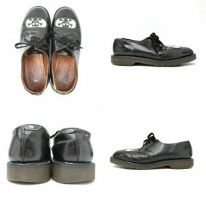vintage Dr.Martens ヴィンテージ ドクターマーチン「UK8」「ドクロ」3ホール レザーブーツ (靴シューズ) 084983
