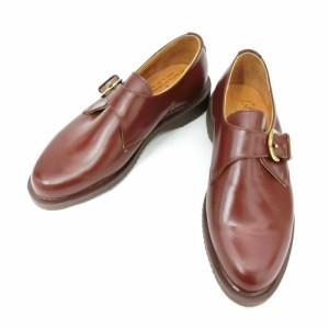 【新品】デッドストック vintage Dr.Martens ヴィンテージ ドクターマーチン「UK4」モンクストラップレザーブーツ (靴シューズ) 084992