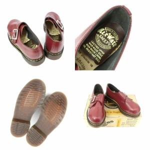 デッドストック vintage Dr.Martens ヴィンテージ ドクターマーチン「UK5」スチールトゥ モンクストラップ レザーブーツ (靴) 085003