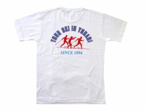 デッドストック CONVERSE コンバース 1994年夕張スキーツアー限定 Tシャツ 085808