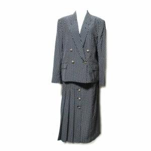 vintage INGEBORG ヴィンテージ インゲボルグ ドット柄セットアップスーツ (PINK HOUSE ピンクハウス カネコイサオ スカート) 086949