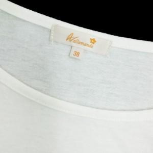 allamanda White Cut & Sew「38」アラマンダ ホワイト カットソー (INGNI) 087116