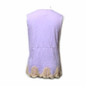 ANNA SUI アナスイ フリルレースカットソー (Tシャツ) 089811
