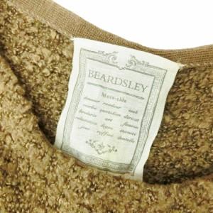 BEARDSLEY  ビアズリー 背スリットレイヤード もこもこ ワンピース (トゥモローランド) 090197