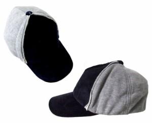 【新品】HAYASHIYAOKICHI 林八百吉 ネイビースエット×コーデュロイキャップ (日本製 Made in Japan 帽子 紺) 091491