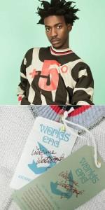 【新品】Vivienne Westwood worlds end ヴィヴィアンウエストウッド「S/M」限定+5°プロパガンダスエットトレーナー 092496