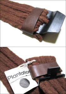 新品同様 Plantation ISSEY MIYAKE プランテーション イッセイミヤケ ワイドウールベルト 092562