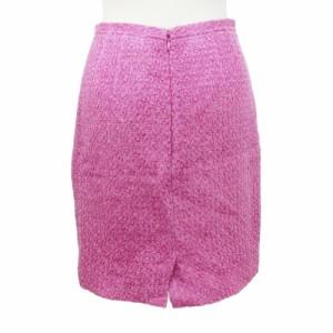 INED イネド「2」ピンク ラメ スカート 093008