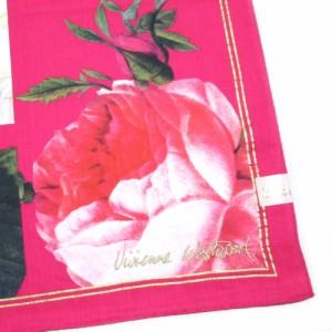 【新古品】廃盤 Vivienne Westwood ヴィヴィアンウエストウッド アンティークローズ大判ハンカチ 095426