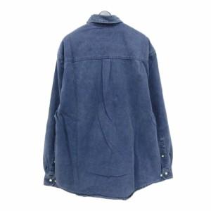 Eddie Bauer エディバウアー「M」コットンシャツ (長袖) 095837