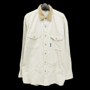 90's SIERRA CLUB 90年代 シェラクラブ「L」自然保護団体コットンシャツ (長袖) 095838