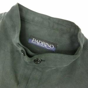 PADRINO パドリノ マオカラーシャツ (長袖) 095839